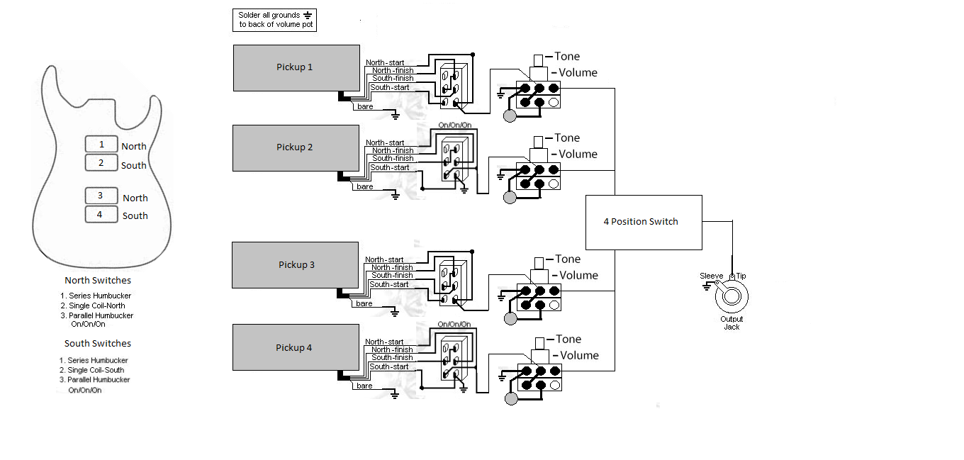 wiring diagram for 5 way rotary switch diagram free printable wiring diagrams