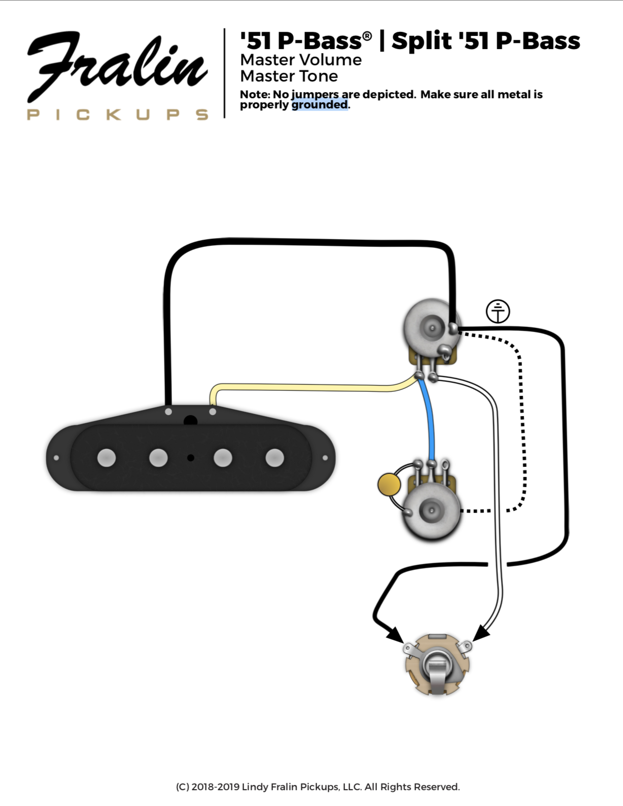 Which of these wiring diagrams do you prefer for '51 Precision? |  TalkBass.comTalkBass.com
