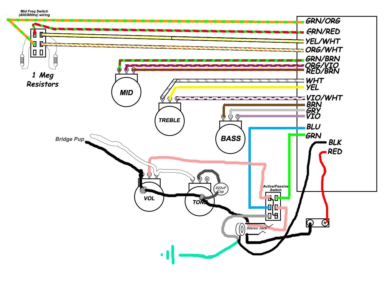need help a wiring configuration talkbass com