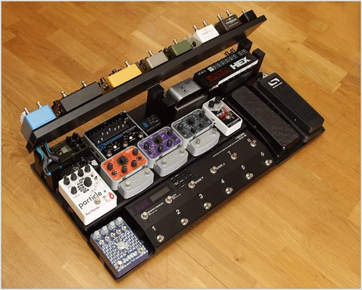 New big DIY pedalboard Update Nerdy diagrams