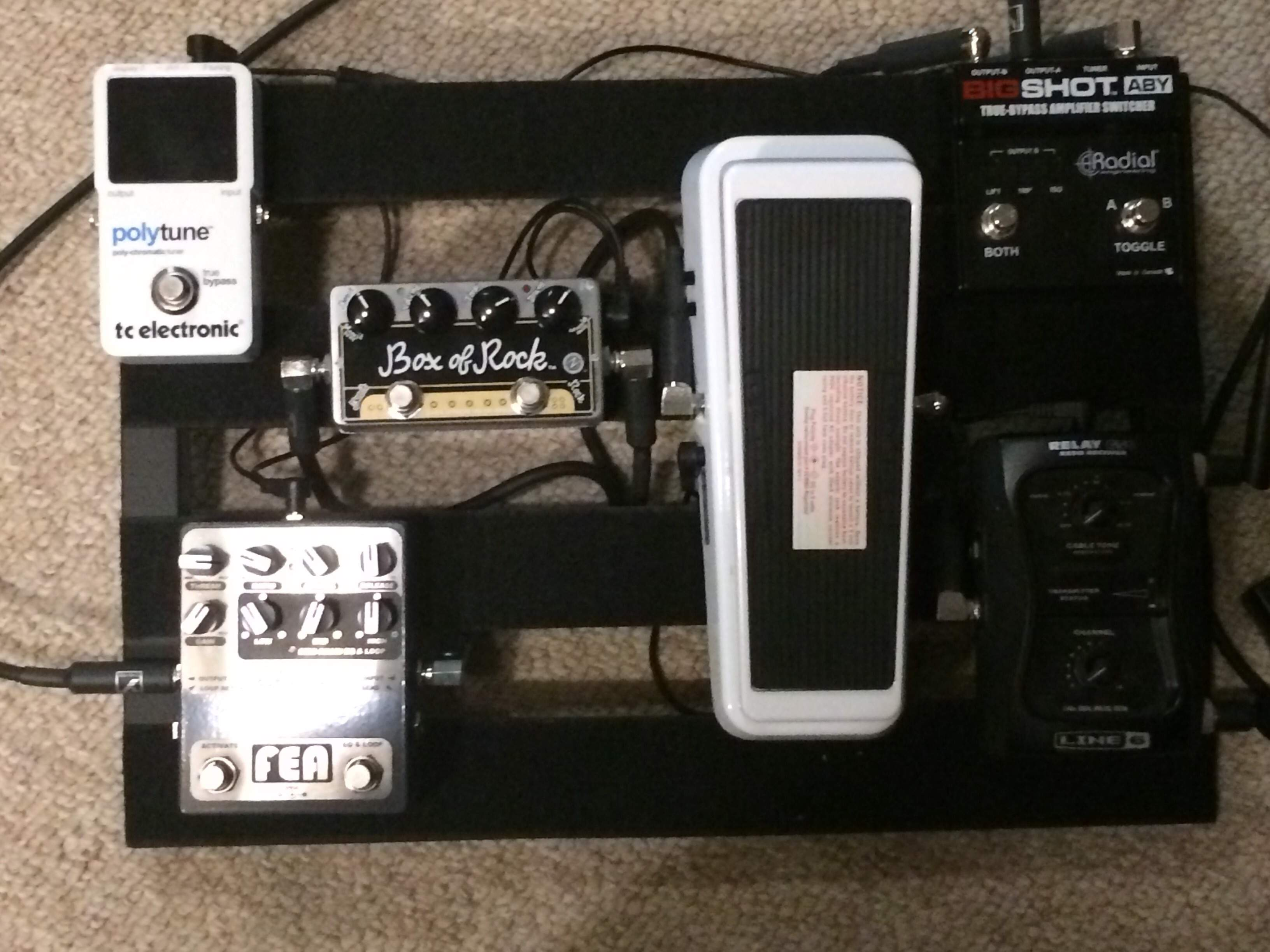 And to think, a month ago I had no pedals     | TalkBass com