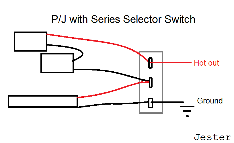 P J Bass Wiring Diagram from www.talkbass.com